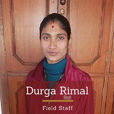 Durga Rimal | Field Officer