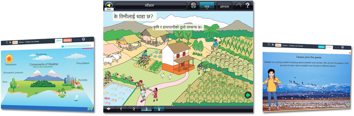 E-Paath Interactive Educational Content