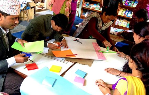 Interactive program for teachers during training