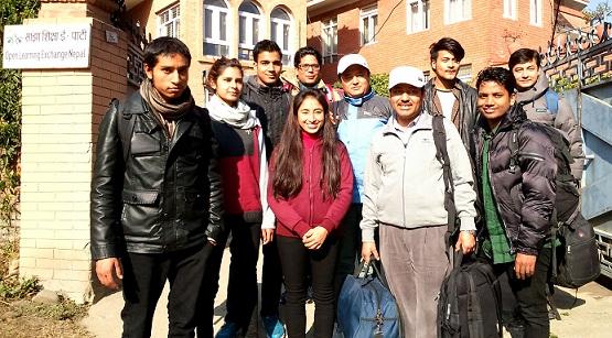 OLE Nepal team leaving for Bajhang