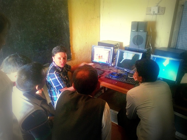 E-Pustakalaya Update briefing at Kavre