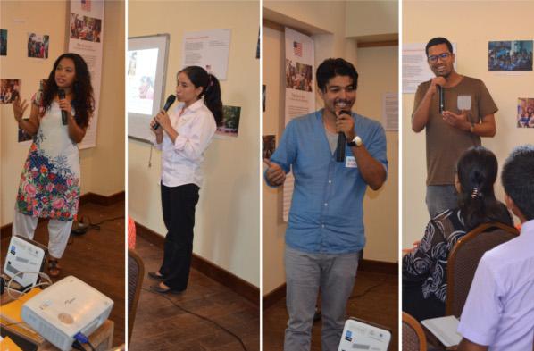 OLE Nepal team's presentation at Innovation in Education Fair