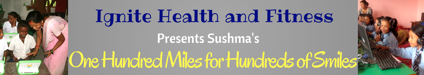 Sushma's 'One Hundred Miles for Hundreds of Smiles' (2)