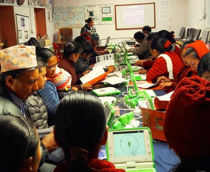 E-Paati Refresher Training in session.